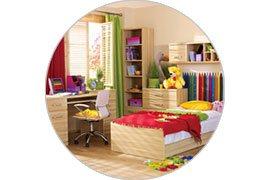 Sufit w pokoju dziecinnym