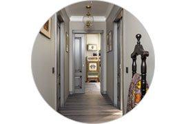 Sufit na korytarzu